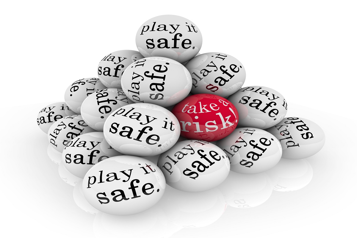 Take a Risk or Play it Safe Pyramid Balls