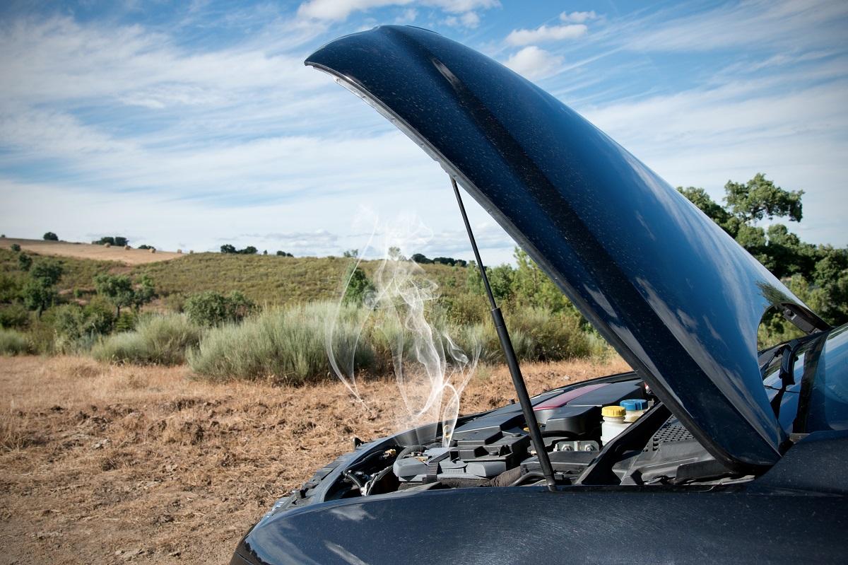 Broken Down Car